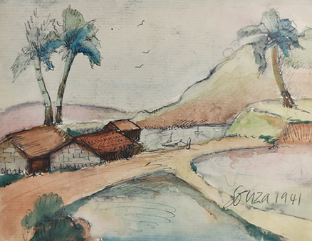 Untitled (Landscape, Goa)