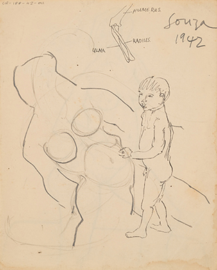 Untitled (Composition with Boy)