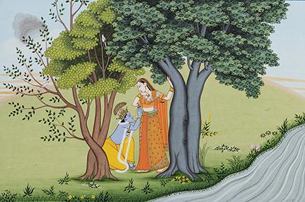 Folio from the Gita Govinda