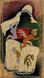 Untitled - M F Husain - Winter Live Auction: Modern Indian Art