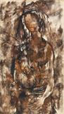 Autumn Girl - Krishen  Khanna - Summer Online Auction