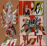 Icon and Still Life - K G Subramanyan - Creative Circuit: The Art of K G Subramanyan