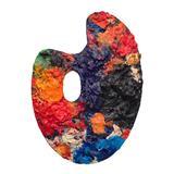 Artist Palette - S H Raza - Raza: The Bindu and Beyond