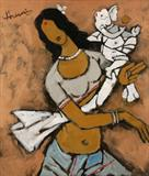 Untitled - M F Husain - ALive: Evening Sale of Modern and Contemporary Art