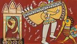 Untitled - Jamini  Roy - ALive: Evening Sale of Modern and Contemporary Art