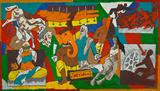 Untitled (Mahabharat) - M F Husain - ALive: Evening Sale of Modern and Contemporary Art