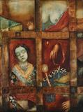 Untitled - Anjolie Ela Menon - Winter Live Auction: Modern Indian Art