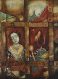 Untitled - Anjolie Ela Menon - Winter Live Auction: Modern Indian Art