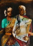 Untitled - Anjolie Ela Menon - Winter Online Auction: Modern and Contemporary South Asian Art and Collectibles
