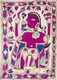 Anonymous-Untitled (Madhubani Painting)