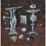 Still Life with Fruit - F N Souza - The Curated Auction Series