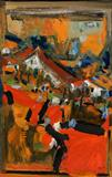 Untitled - S H Raza - Spring Live Auction | Modern Indian Art