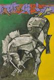Untitled - M F Husain - Summer Live Auction