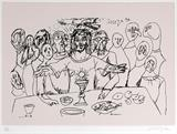 Untitled - F N Souza - Art Rises for India: A Covid-19 Relief Fundraiser Auction by the Indian Art Community