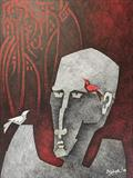 Untitled - Ashok  Bhowmick - Art Rises for India: A Covid-19 Relief Fundraiser Auction by the Indian Art Community