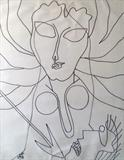Durga - Prakash  Karmarkar - Art Rises for India: A Covid-19 Relief Fundraiser Auction by the Indian Art Community