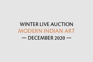 Winter Live Auction: Modern Indian Art