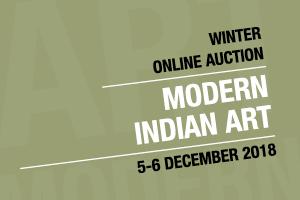 Winter Online Auction: Modern Indian Art
