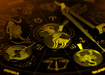 Silver Zodiac Pendants