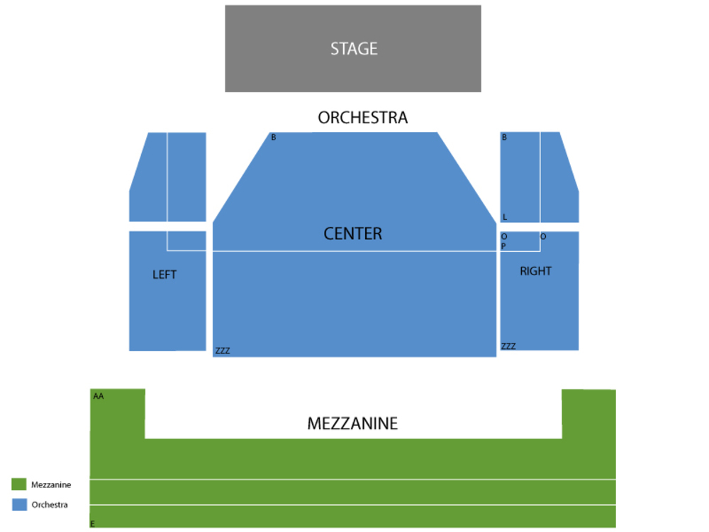 Seating Chart Minskoff Theatre