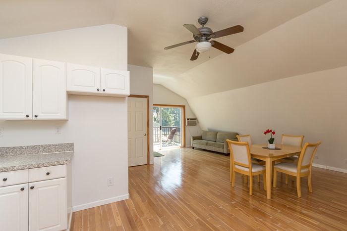 Bonus living space above garage