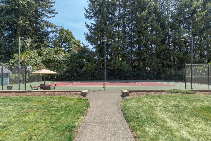 Sport court - professional quality - tennis & basketball
