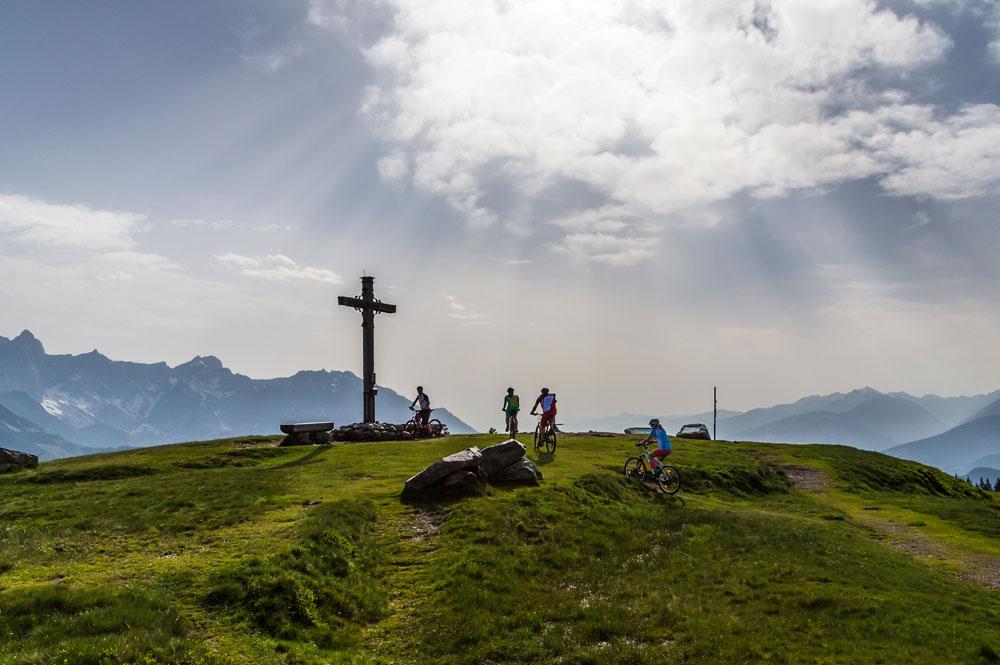 Mountainbiken bei Filzmoos