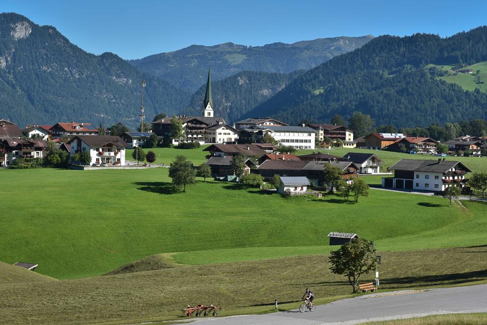 Blick auf Brandenberg