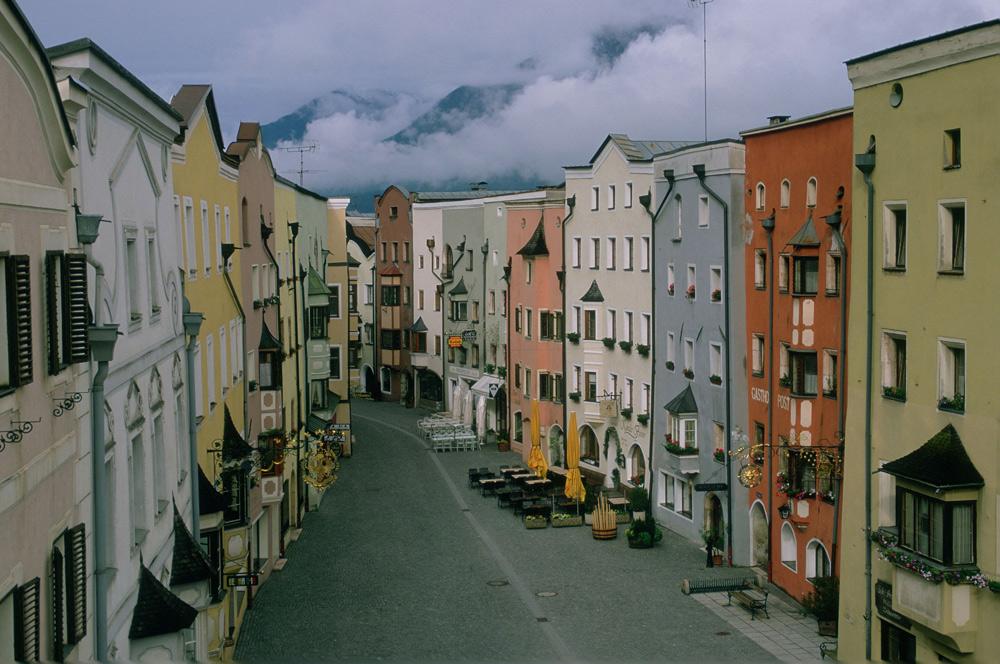 Die Fußgängerzone von Rattenberg