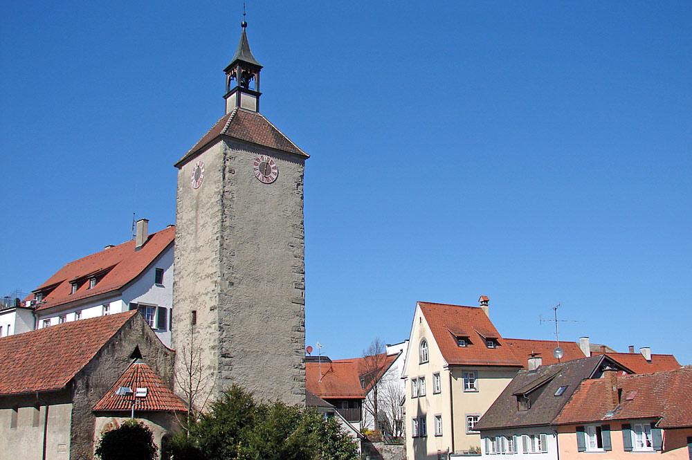 Außenansicht der Peterskirche in Lindau