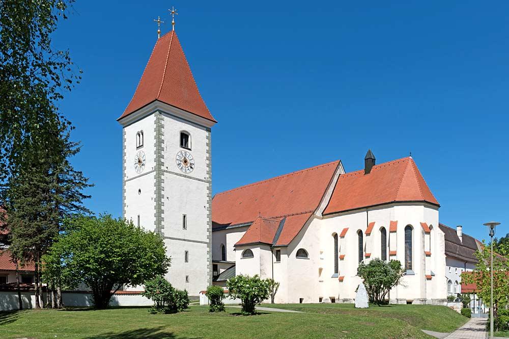 Stiftskirche und Stift Eberndorf