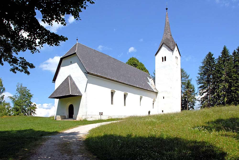 Wallfahrtskirche St. Hemma und Dorothea in Globasnitz