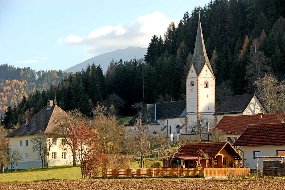 Sittersdorfer Kirche im Ortsteils Tichoja