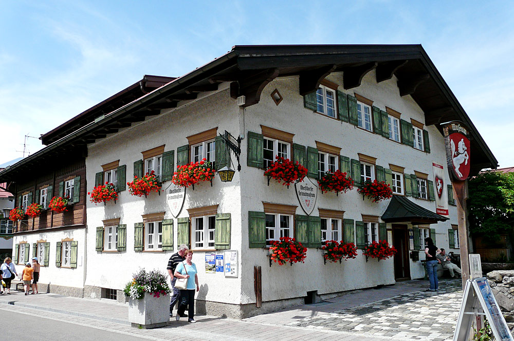 Außenansicht des Oberstdorfer Heimatmuseums
