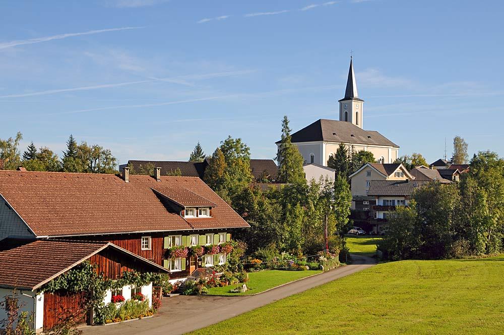 Katholische Pfarrkirche St. Martin in Alberschwende