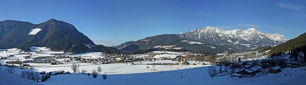 Panoramaansicht von Söll