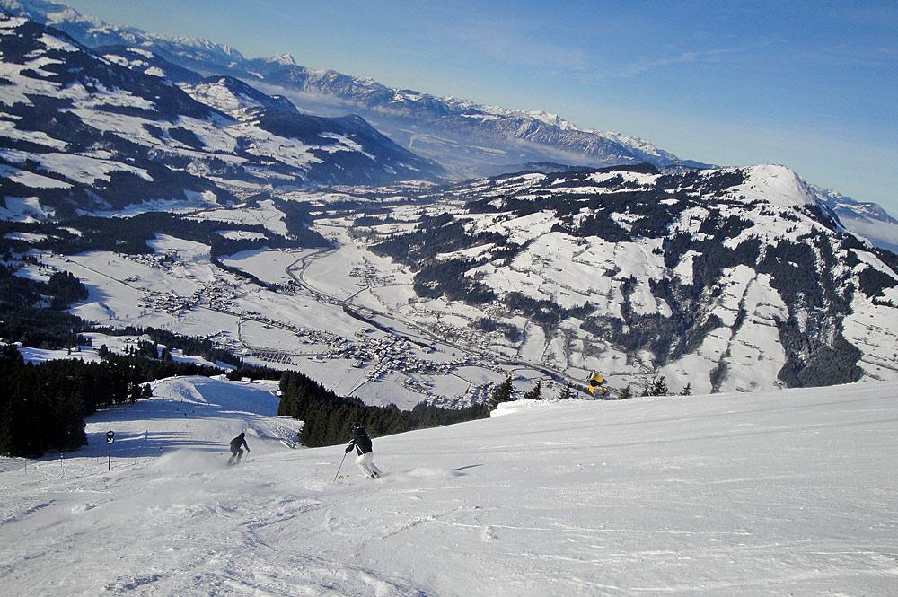 Piste in Westendorf in der SkiWelt Wilder Kaiser-Brixental