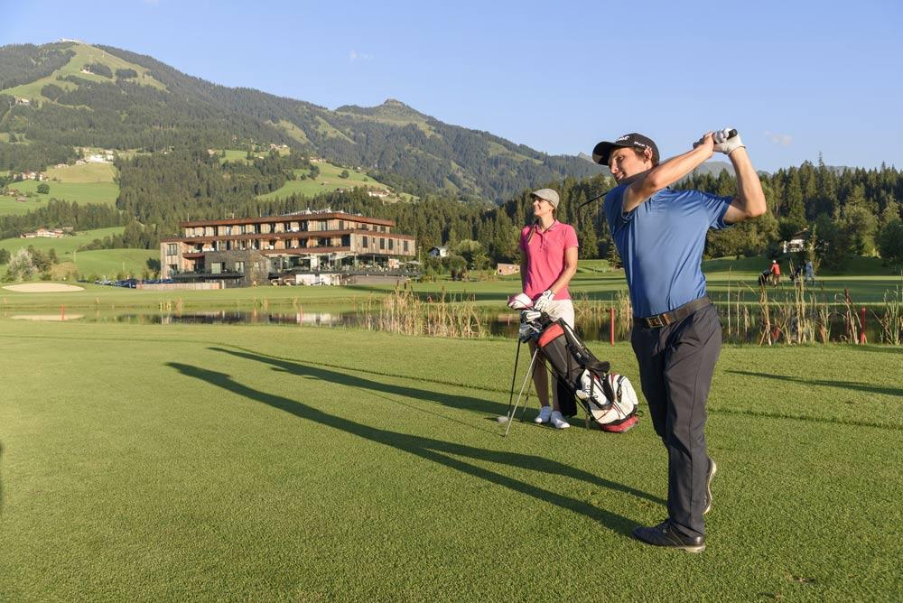 Golfer in Westendorf