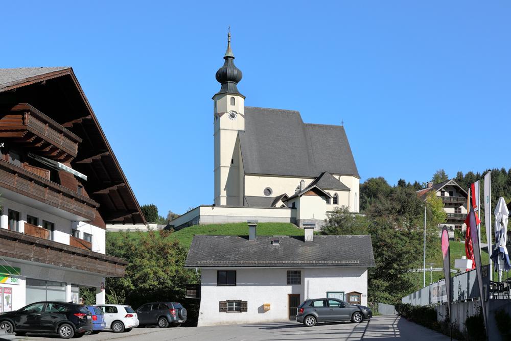 Ortszentrum von Steinbach am Attersee