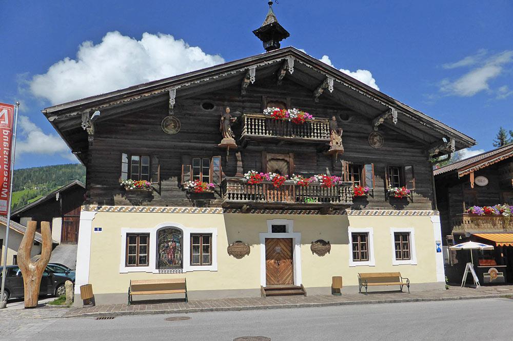 Außenansicht des Heimatmuseums Altenmarkt
