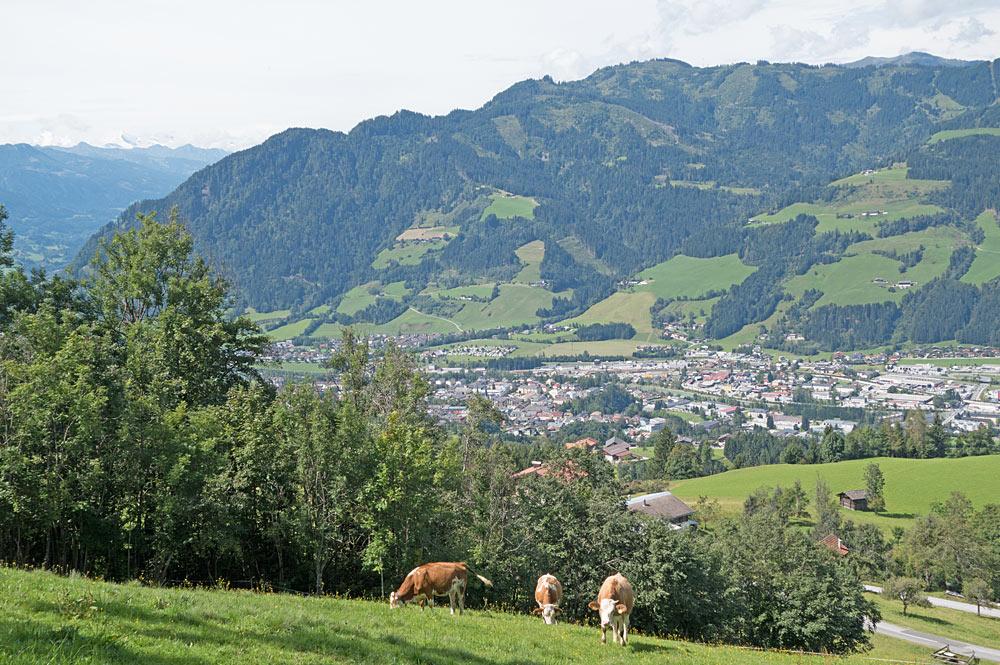 Ortsansicht von St. Johann im Pongau