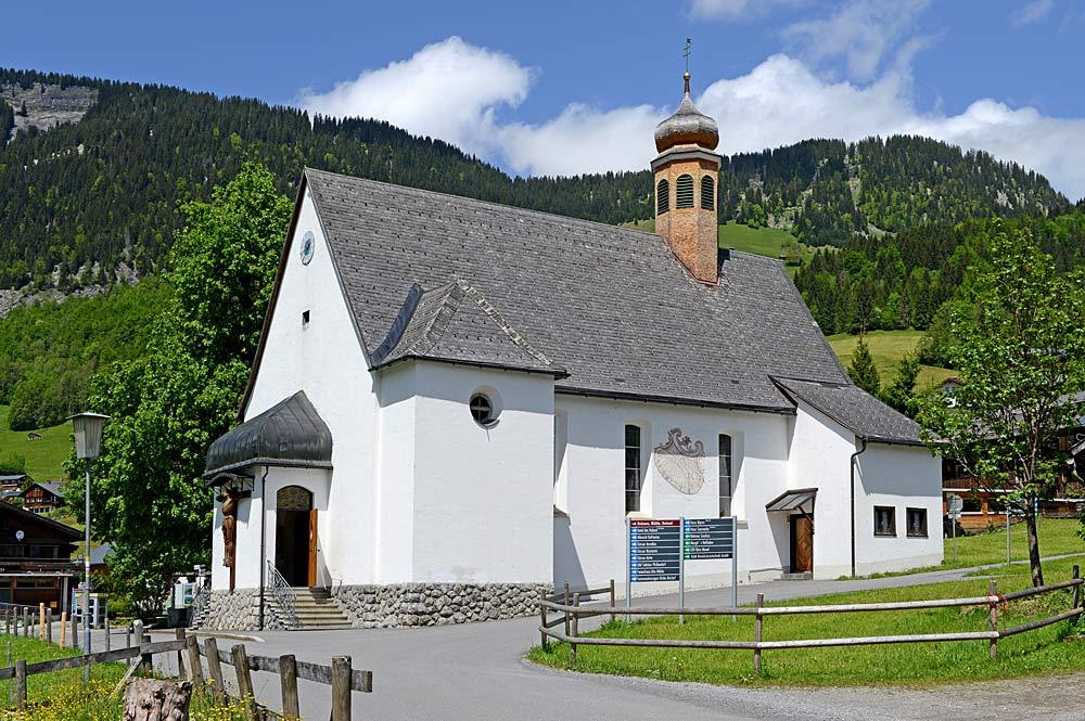 Kuratienkirche St. Josef in Au