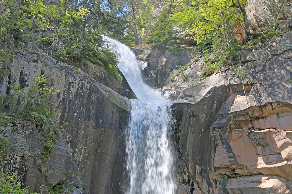 Der Obere Wasserfall von Barbian
