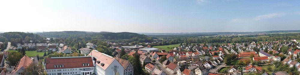 Panoramablick über Buxheim