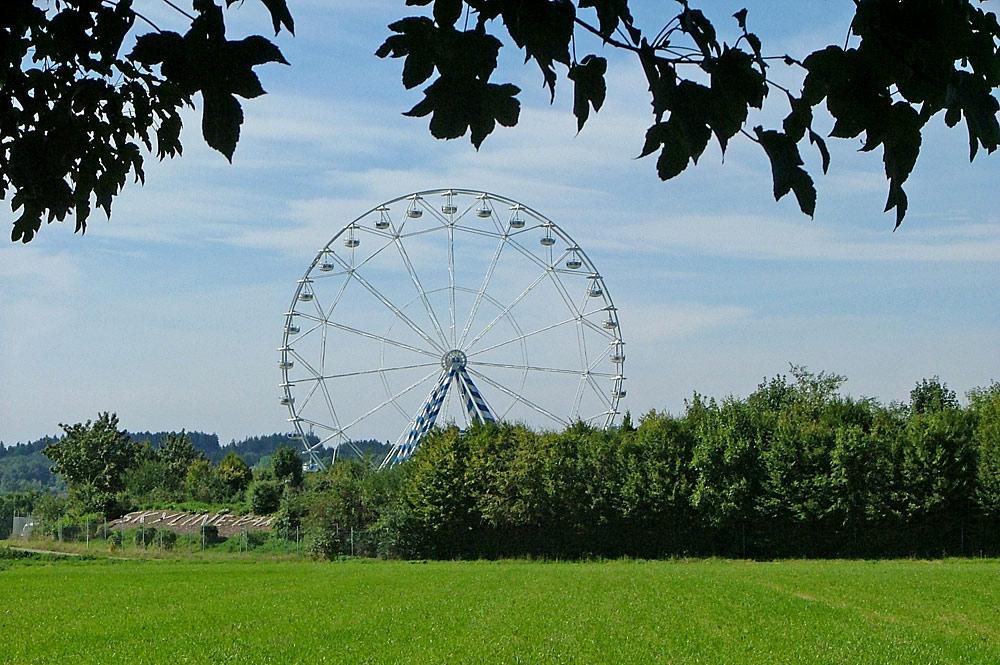 Riesenrad des Allgäu Skyline Parks bei Bad Wörishofen