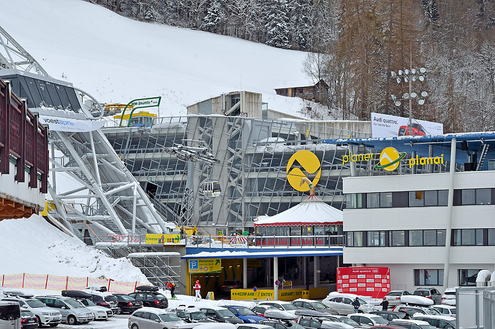 Talstation der Planaibahn in Schladming