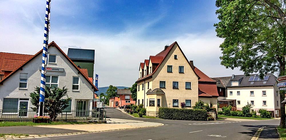 Zentrum von Tröstau