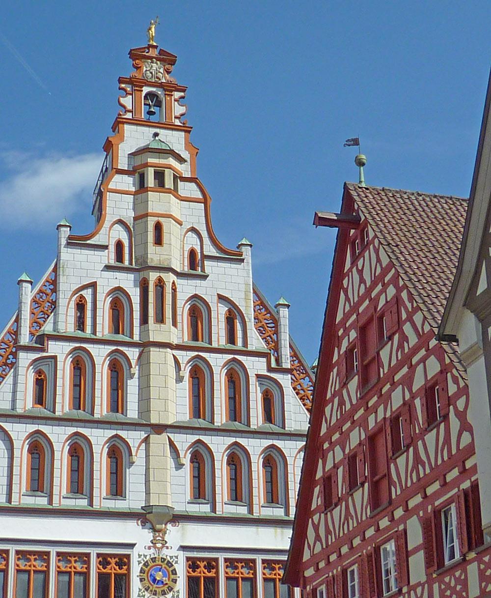 Außenansicht des Rathauses in Bad Waldsee