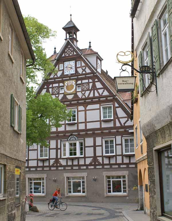 Fachwerkhaus in Bad Überkingen