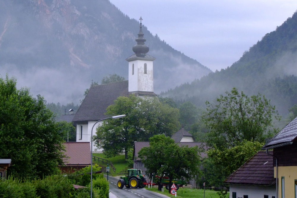 Kirche in Bad Aussee